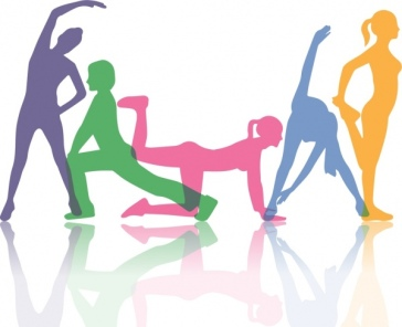 active_human_background_excercise_gestures_colorful_silhouette_icons_6827910